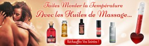 huiles de massages