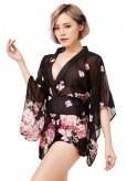 Kimono Noir Geisha
