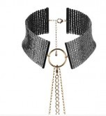 Collier Noir Desir Metallique