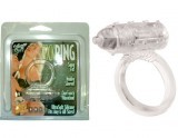 Cockring Vibrant Transparent