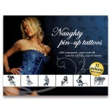 Tatouages Pin-Up Temporaire Waterproof