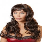 Perruque Brune Longue Wigged Love