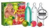 24 Préservatifs Framboise Pomme Pèche