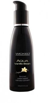 Lubrifiant Comestible Aqua Vanilla Bean
