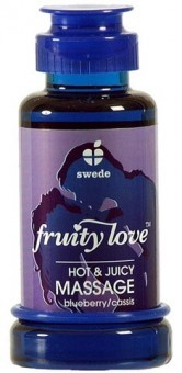 Huile de Massage Swede Blueberry Cassis 100 ml