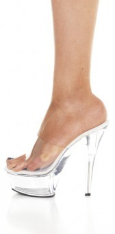 Chaussures Sexy Transparentes