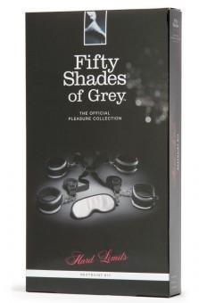 Coffret Menottes De Lit 50 Shades Of Grey