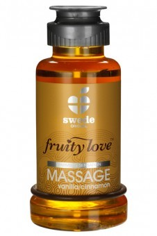 Huile Massage Vanille Cannelle Fruity Love 100 ml