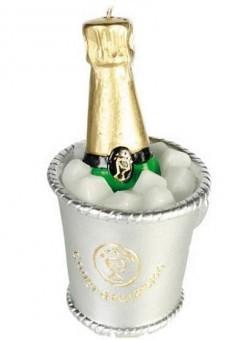 Bougie Champagne Congratulation