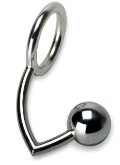 Cockring et Boule Anale Metal