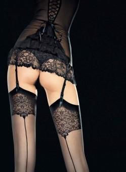 Bas Couture Noir