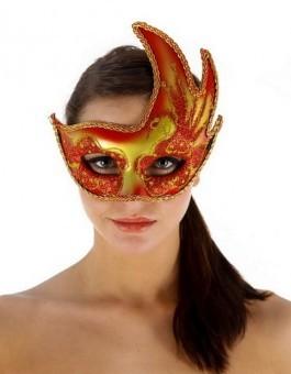 Masque Sexy La Boheme Rouge