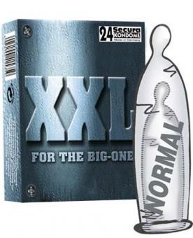 Préservatifs XXL par 24 Secura Kondome