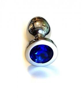 Rosebud Anal Plug Bleu