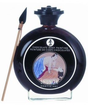 Peinture au Chocolat pour le Corps Shunga
