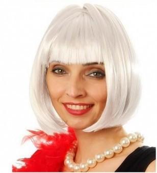 Perruque Cabaret Blanc