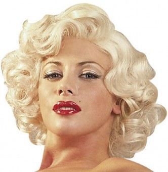 Perruque Blonde Type Marylin