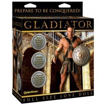 Poupée Gonflable Gladiateur Vibrante