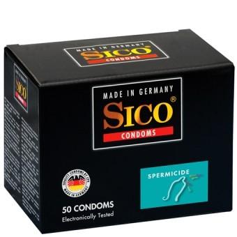 Préservatifs Spermicides Sico x50