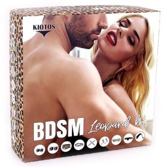 Coffret BDSM Léopard 9 pièces
