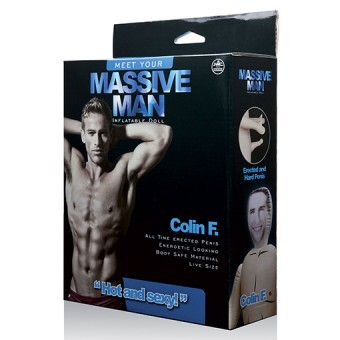 Poupée Gonflable Homme Massive Man Colin