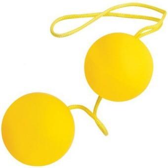 Boules de Geisha Yellow Neon ø3
