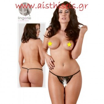 String Femme Ouvert Devant
