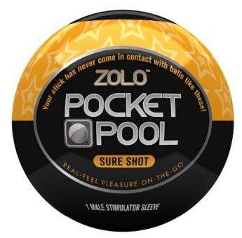 Zolo Pocket Pool Sure Shot Orange