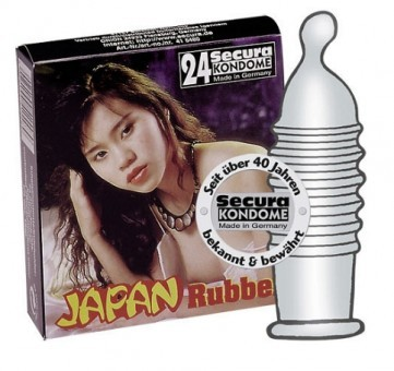 Preservatifs Japan Rubber