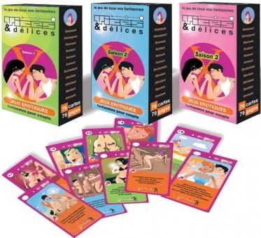Pack Jeux Erotiques Vices Et Délices