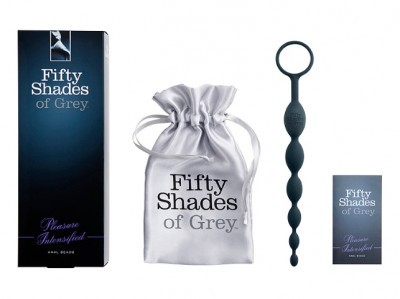 Chaine Anale 50 Shades Of Grey 25,5cm ø2
