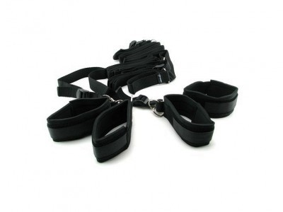 Kit Menottes De Lit Bed Bindings Restraint Kit Fetish
